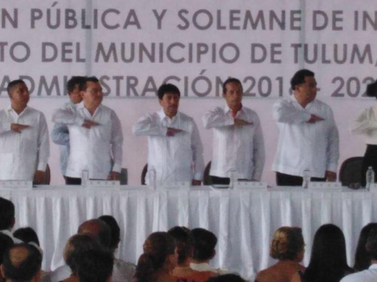 Desarrollo y tradición, la promesa de Víctor Mas al asumir presidencia de Tulum